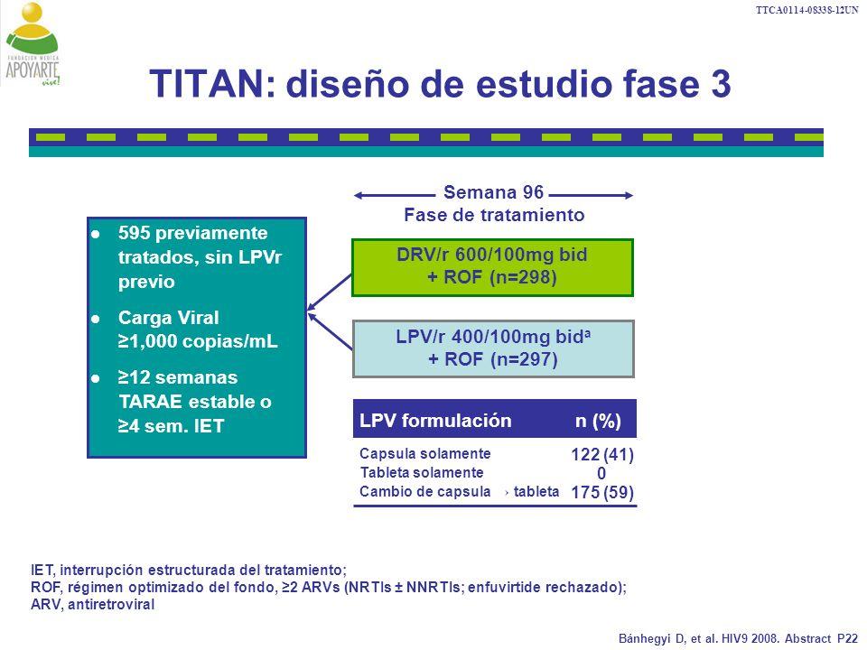 TITAN: diseño de estudio fase 3