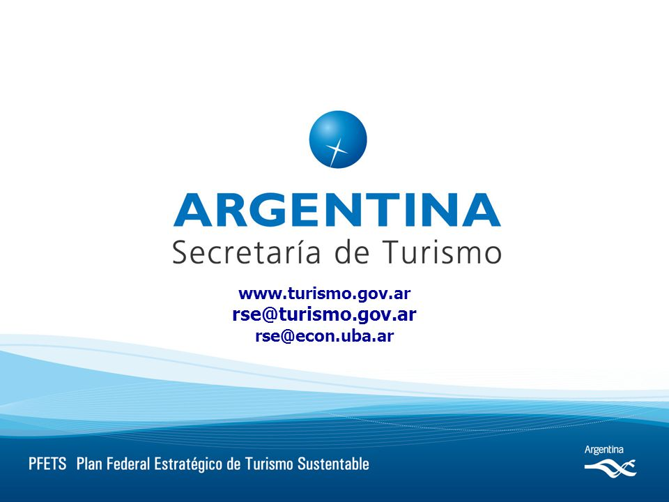 www.turismo.gov.ar rse@turismo.gov.ar rse@econ.uba.ar