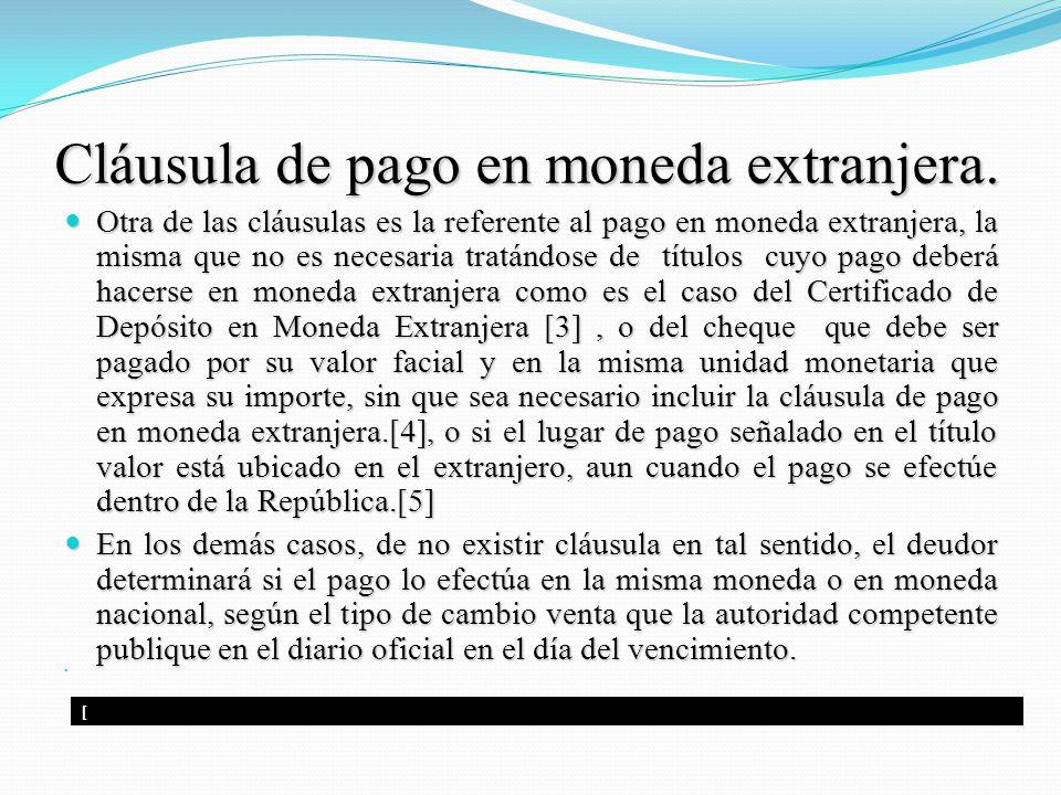 Tema titulos valores dr ulises montoya alberti lima for Clausula suelo y dacion en pago