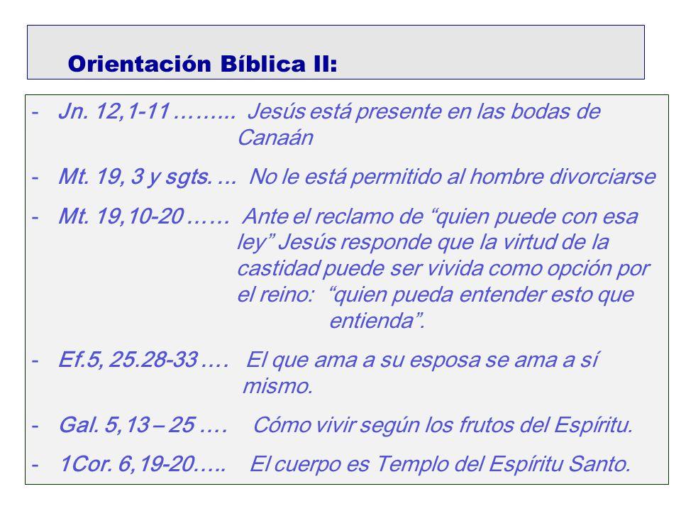 Orientación Bíblica II: