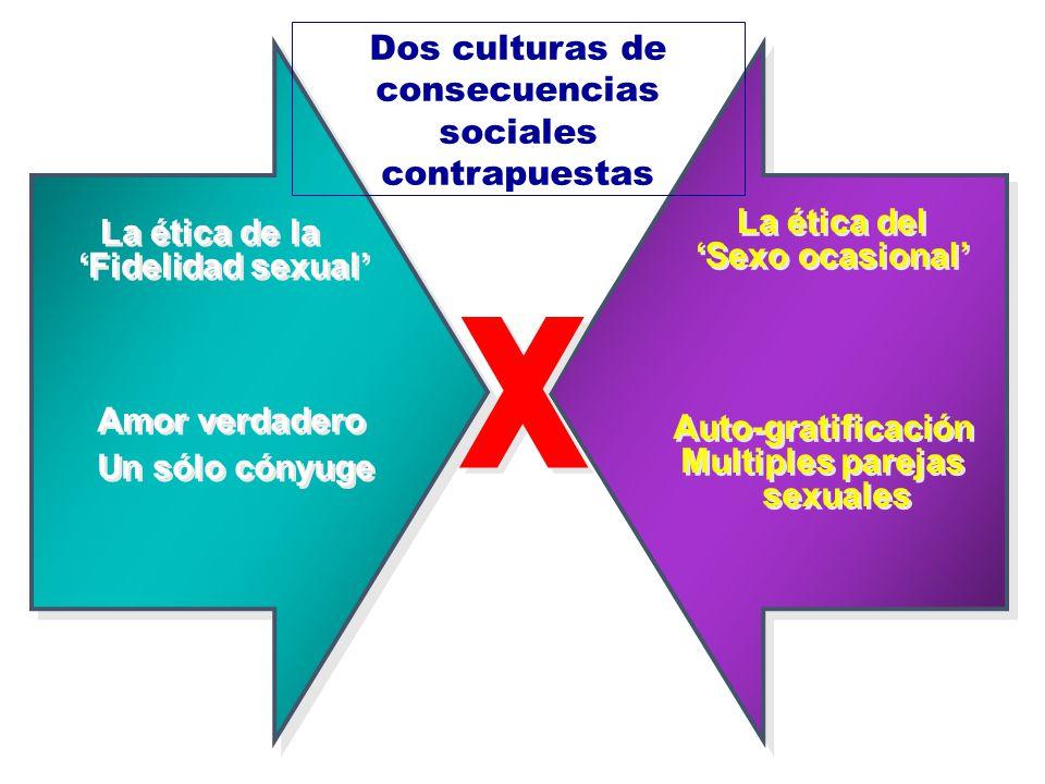 x Dos culturas de consecuencias sociales contrapuestas La ética del