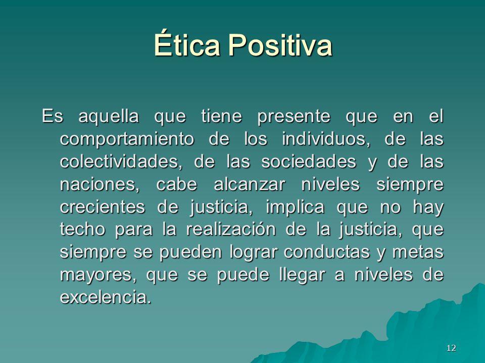 Ética Positiva