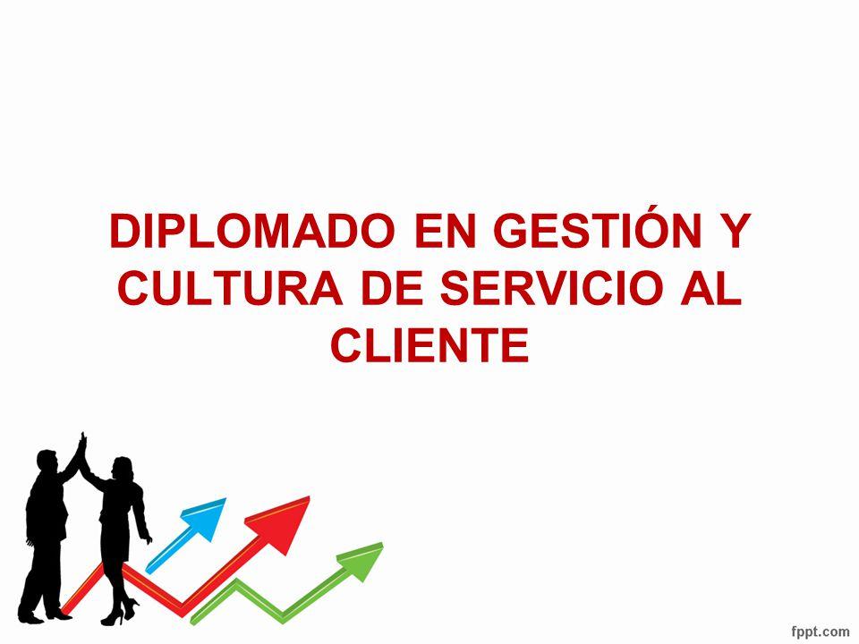 DIPLOMADO EN GESTIÓN Y CULTURA DE SERVICIO AL CLIENTE