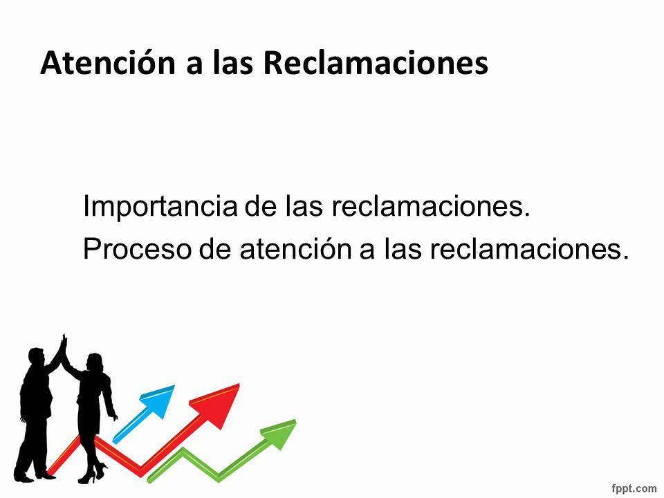 Atención a las Reclamaciones