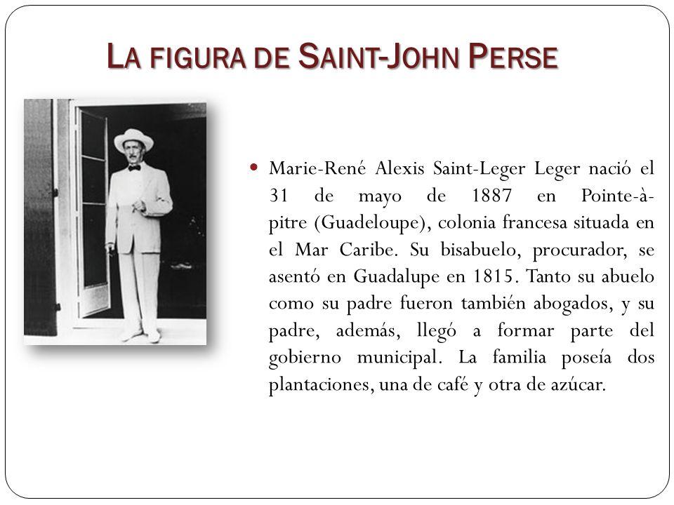 La figura de Saint-John Perse