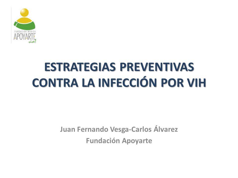 ESTRATEGIAS PREVENTIVAS CONTRA LA INFECCIÓN POR VIH
