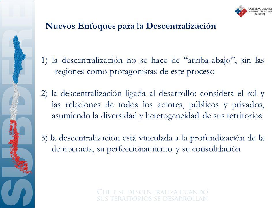 Nuevos Enfoques para la Descentralización