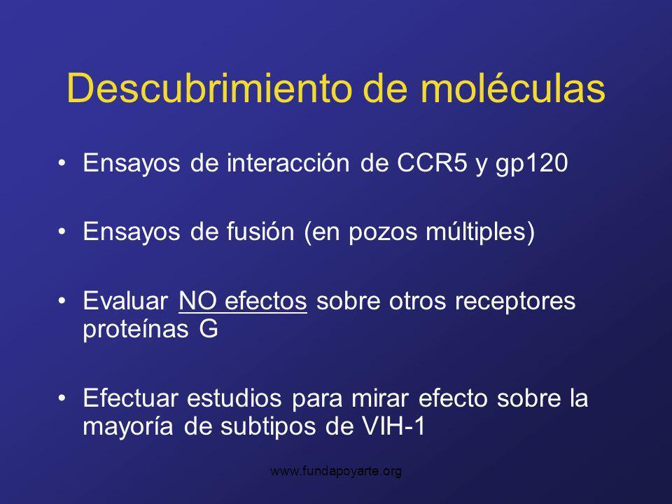 Descubrimiento de moléculas