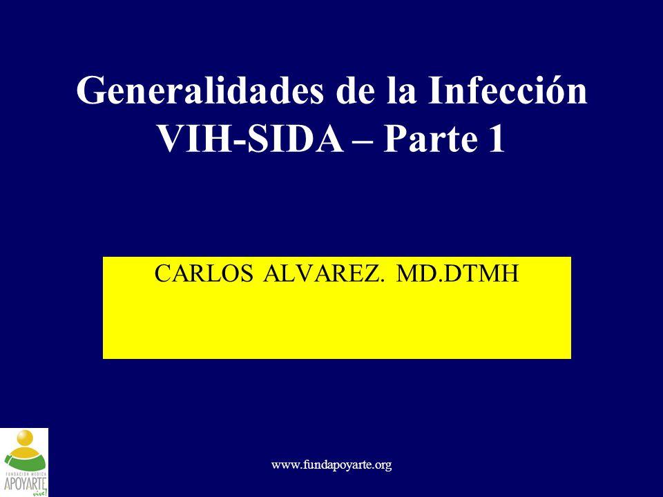 Generalidades de la Infección VIH-SIDA – Parte 1