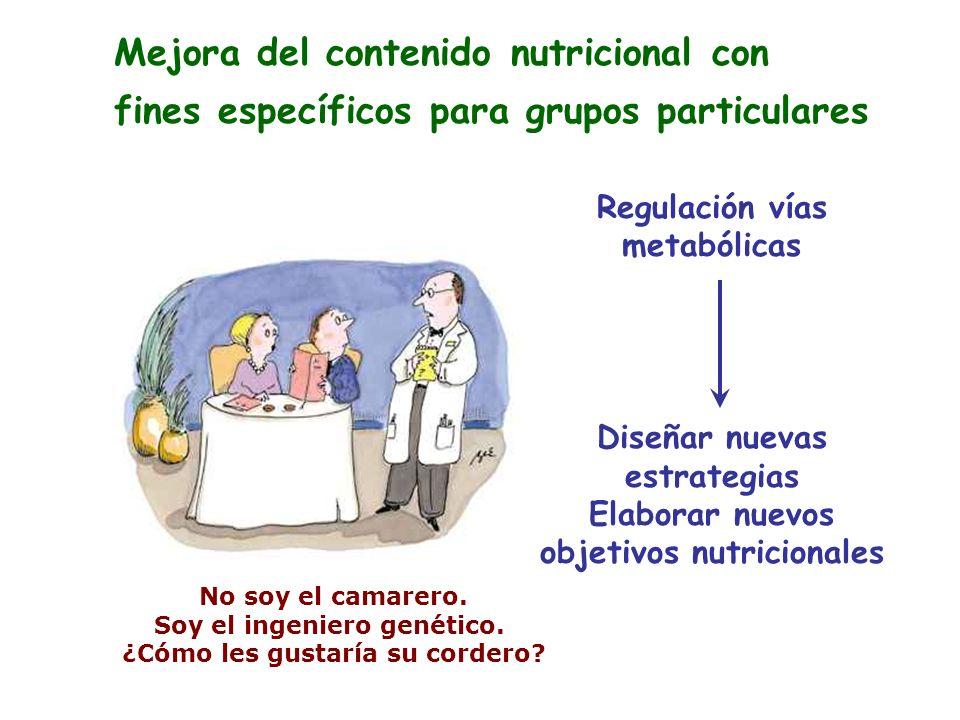 Mejora del contenido nutricional con
