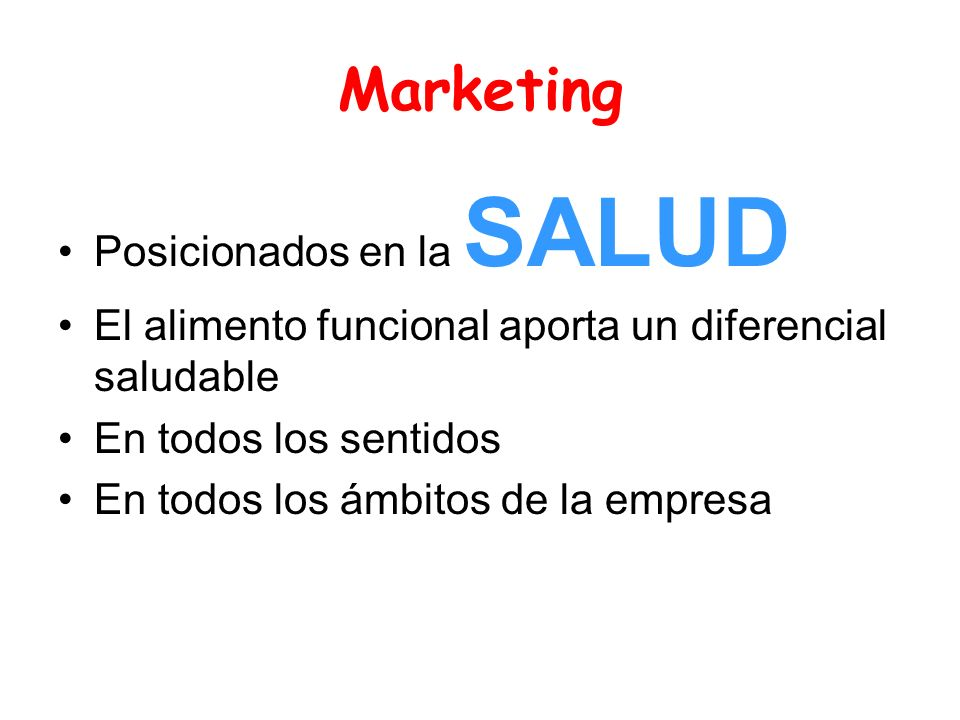 Marketing Posicionados en la SALUD