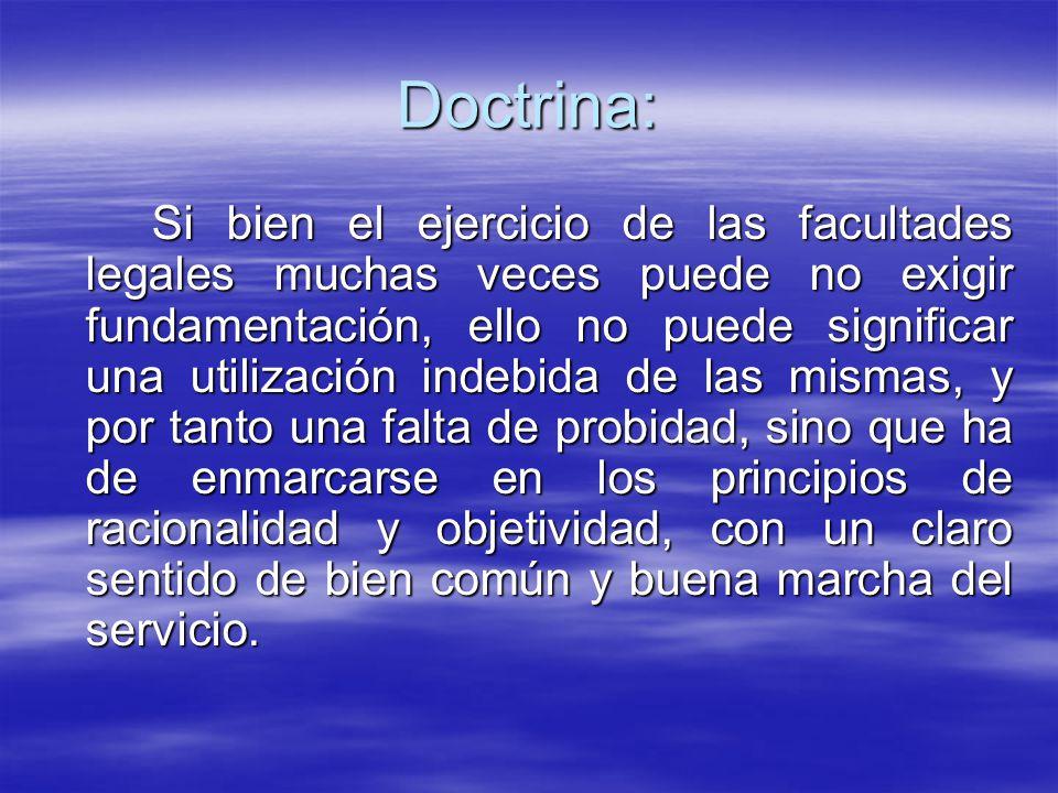 Doctrina: