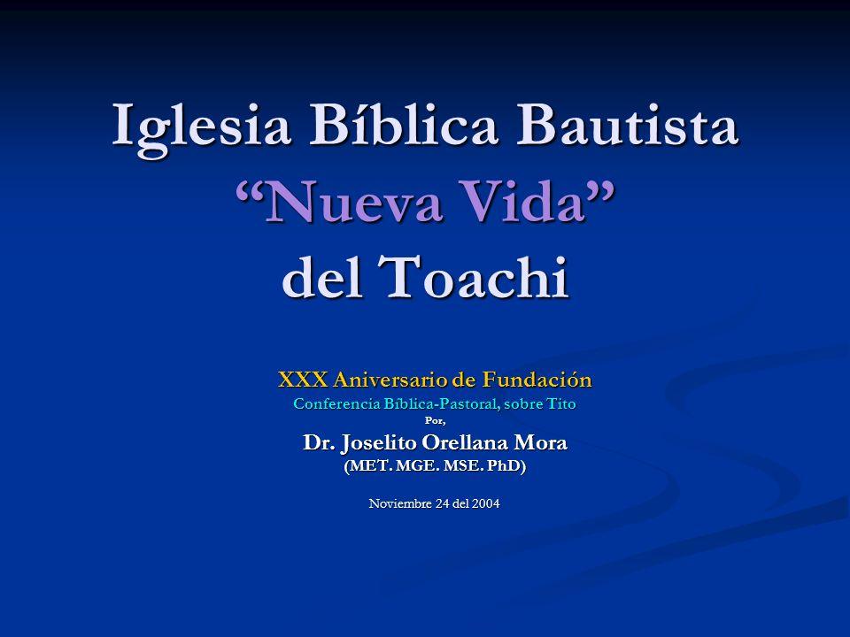 Iglesia Bíblica Bautista Nueva Vida del Toachi