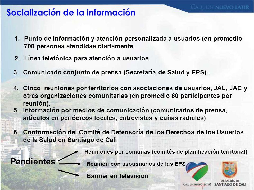 Socialización de la información