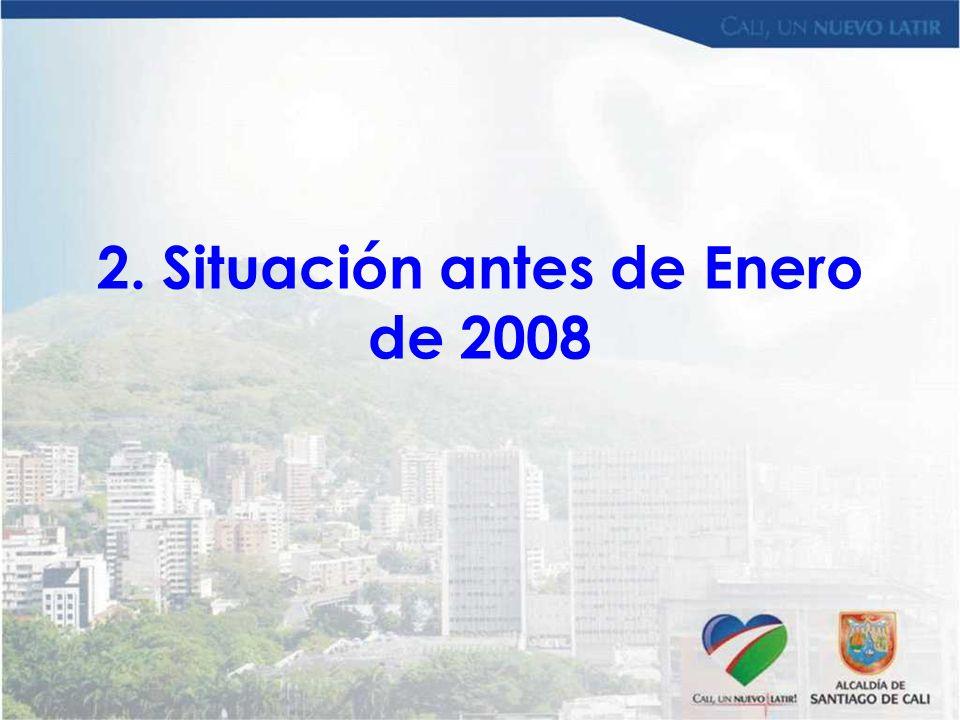 2. Situación antes de Enero de 2008