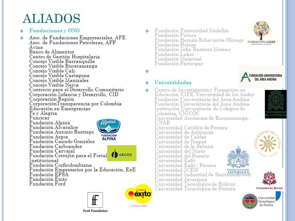ALIADOS Fundaciones y ONG