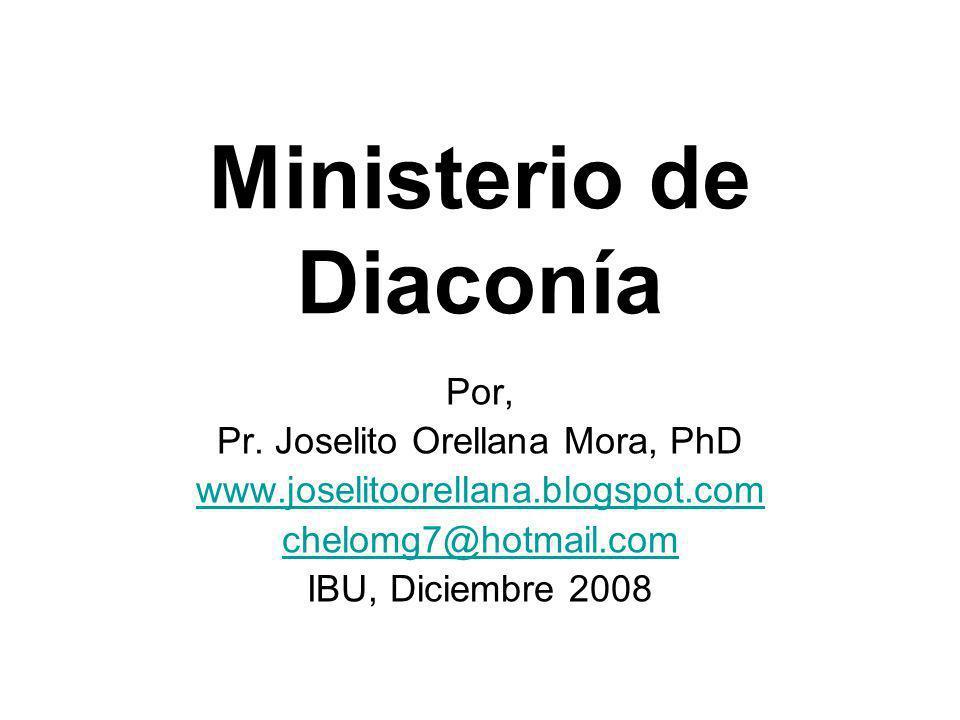 Ministerio de Diaconía