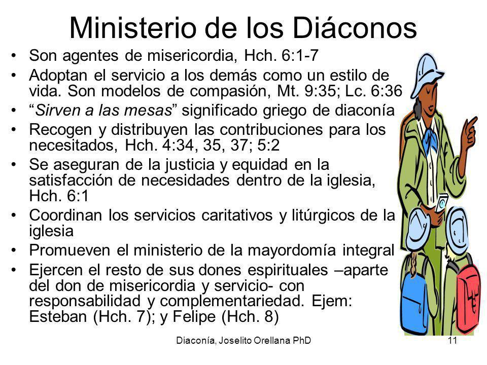 Ministerio de los Diáconos