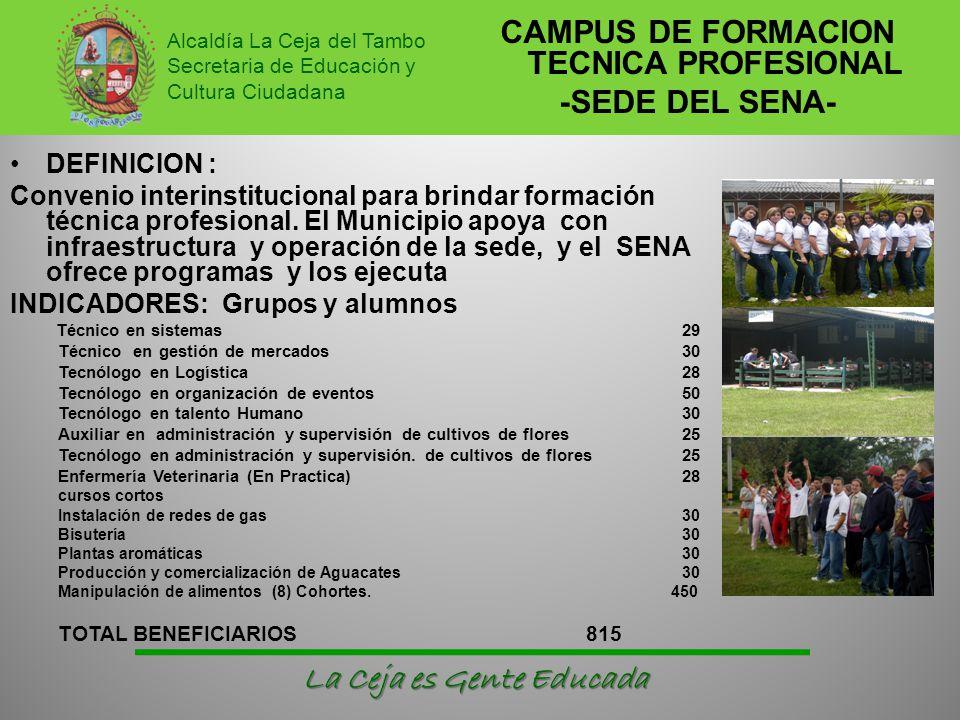 CAMPUS DE FORMACION TECNICA PROFESIONAL