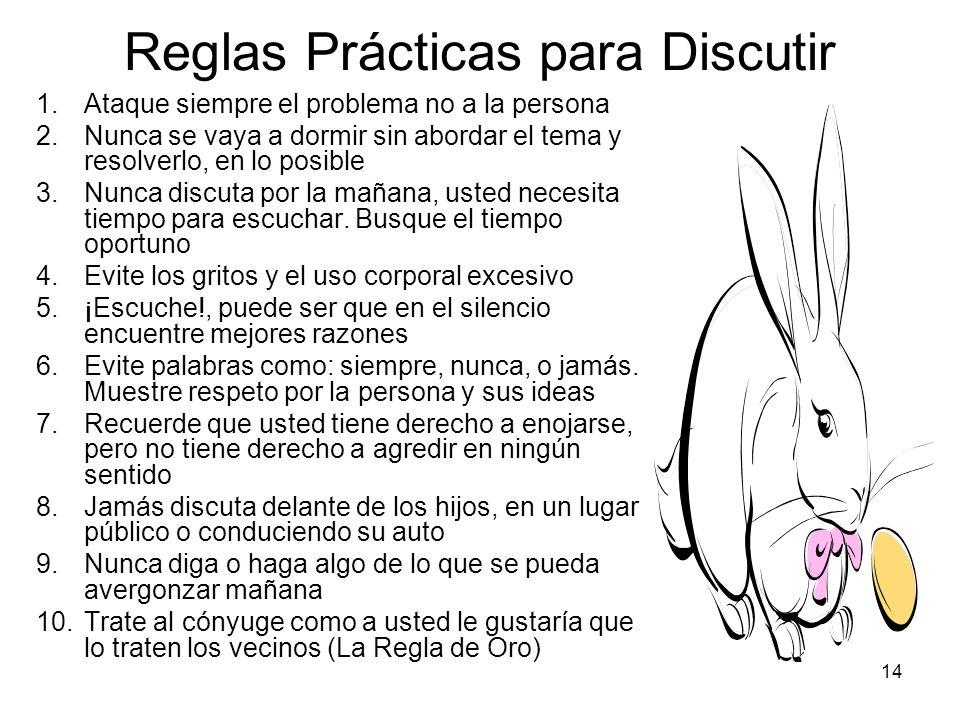 Reglas Prácticas para Discutir
