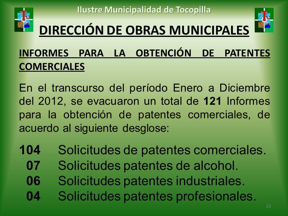 DIRECCIÓN DE OBRAS MUNICIPALES