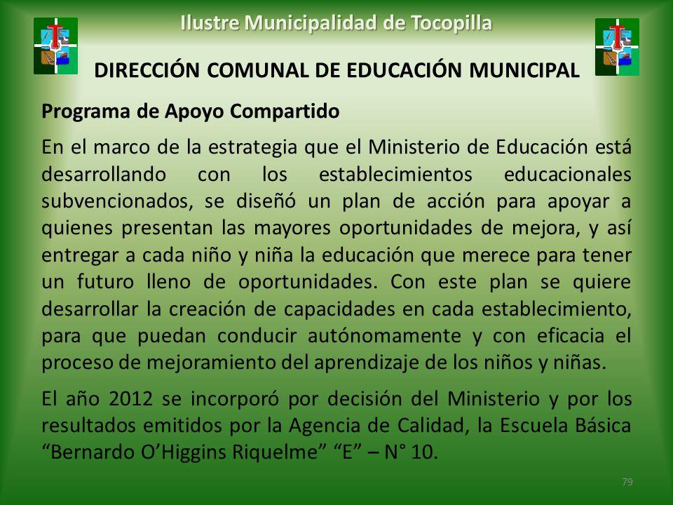 DIRECCIÓN COMUNAL DE EDUCACIÓN MUNICIPAL