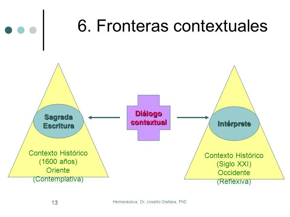 6. Fronteras contextuales