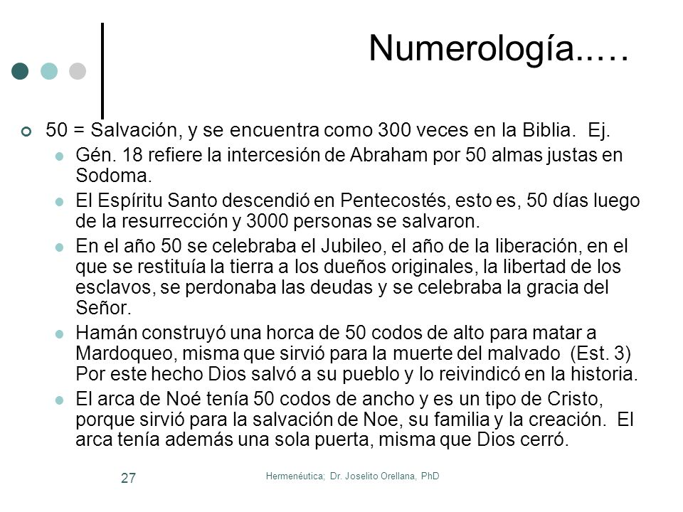 Hermenéutica; Dr. Joselito Orellana, PhD