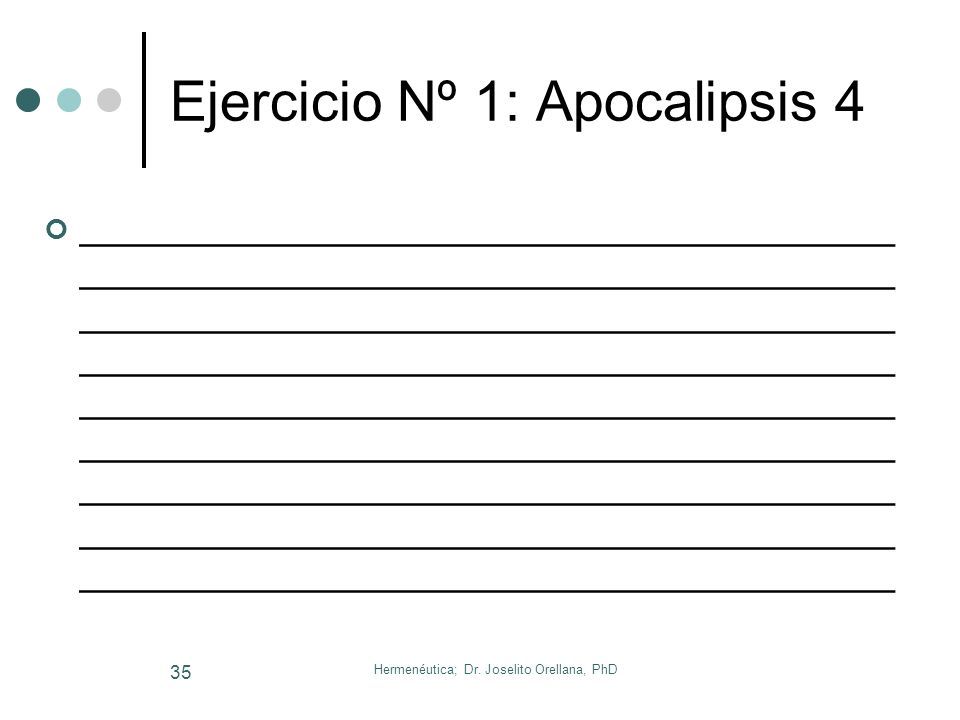 Ejercicio Nº 1: Apocalipsis 4
