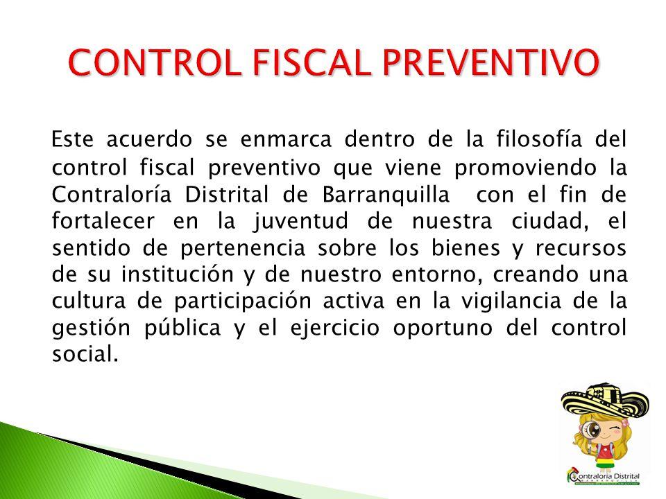 CONTROL FISCAL PREVENTIVO