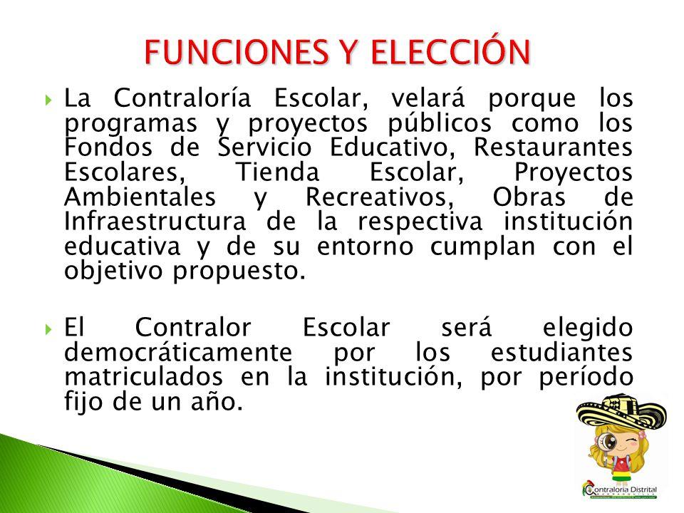 FUNCIONES Y ELECCIÓN