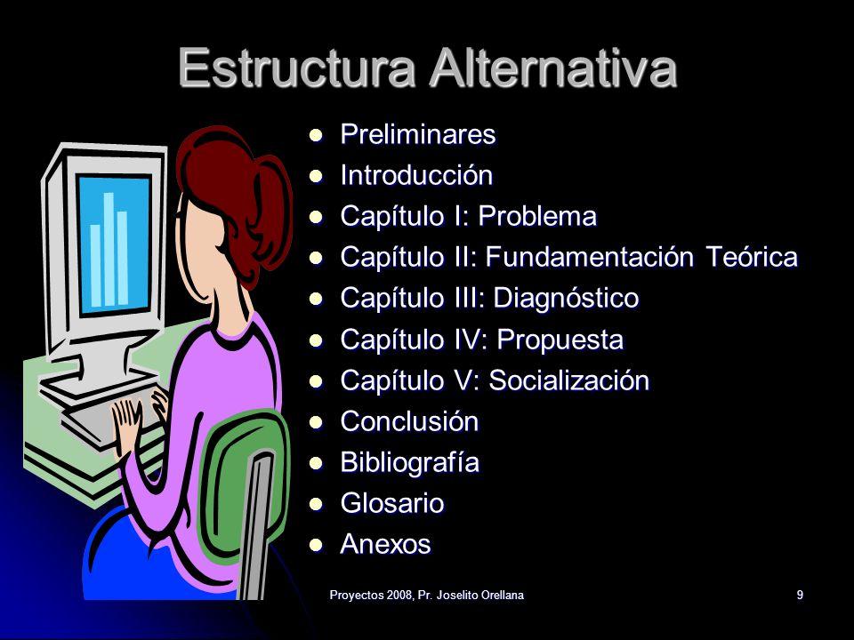 Estructura Alternativa