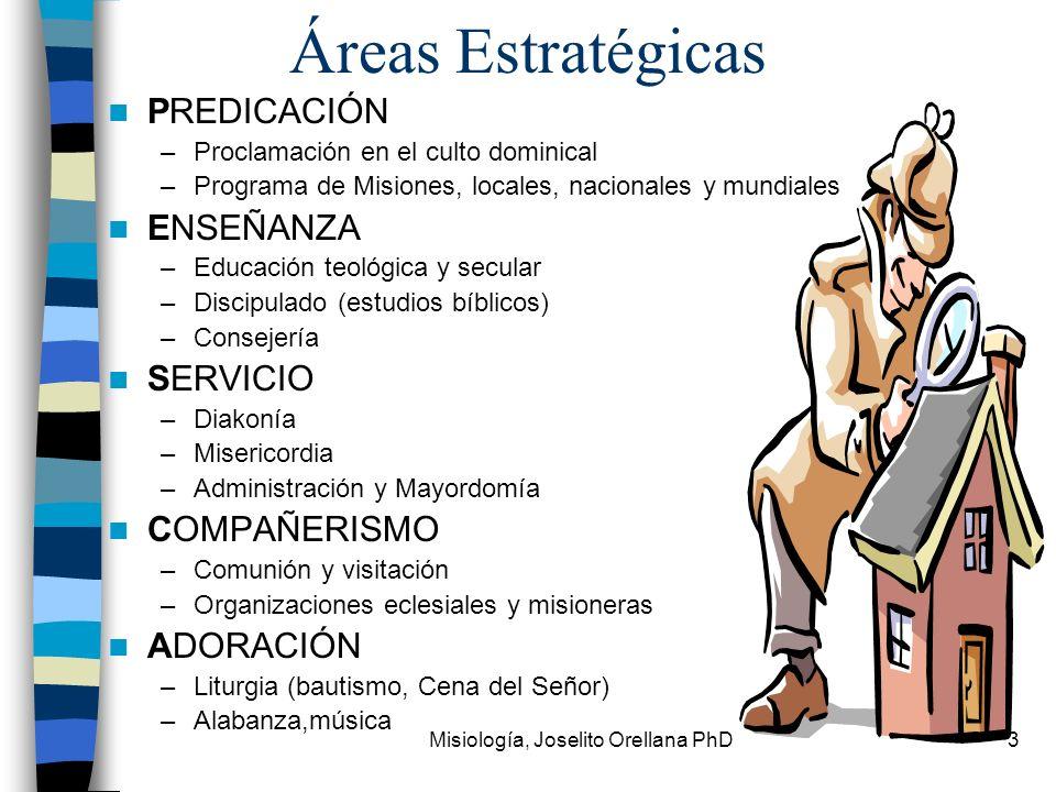 Misiología, Joselito Orellana PhD
