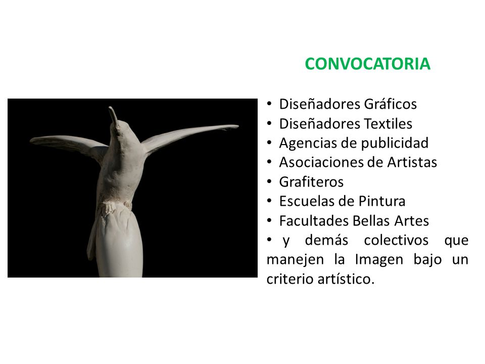 CONVOCATORIA Diseñadores Gráficos Diseñadores Textiles