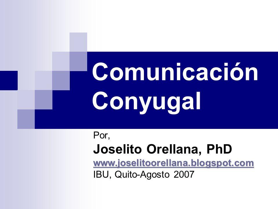 Comunicación Conyugal