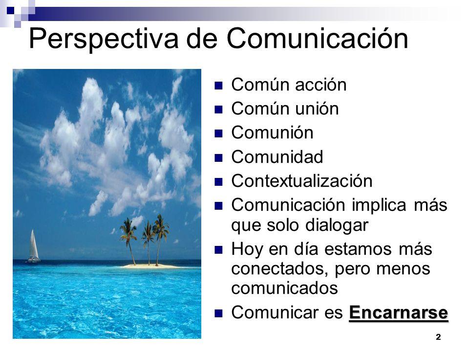 Perspectiva de Comunicación