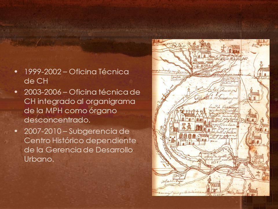 1999-2002 – Oficina Técnica de CH