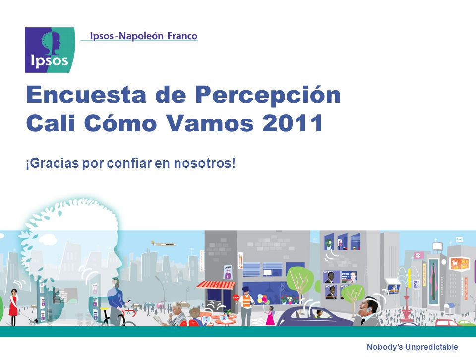 Encuesta de Percepción Cali Cómo Vamos 2011