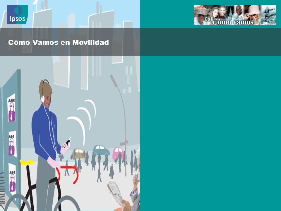Cómo Vamos en Movilidad