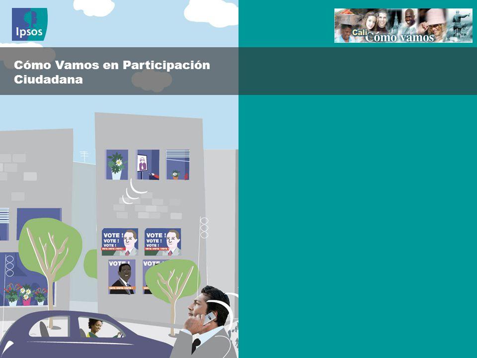Cómo Vamos en Participación Ciudadana