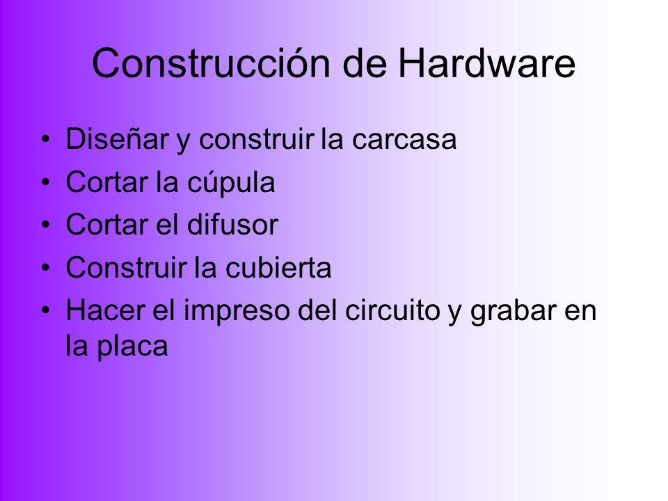 Construcción de Hardware
