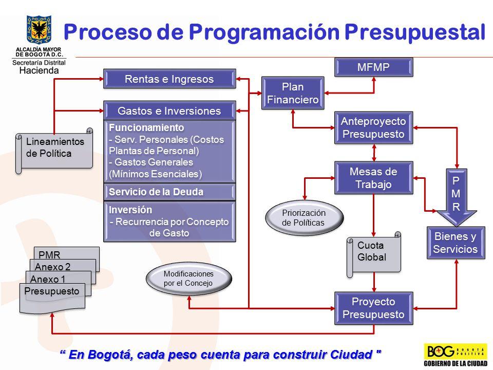 Proceso de Programación Presupuestal