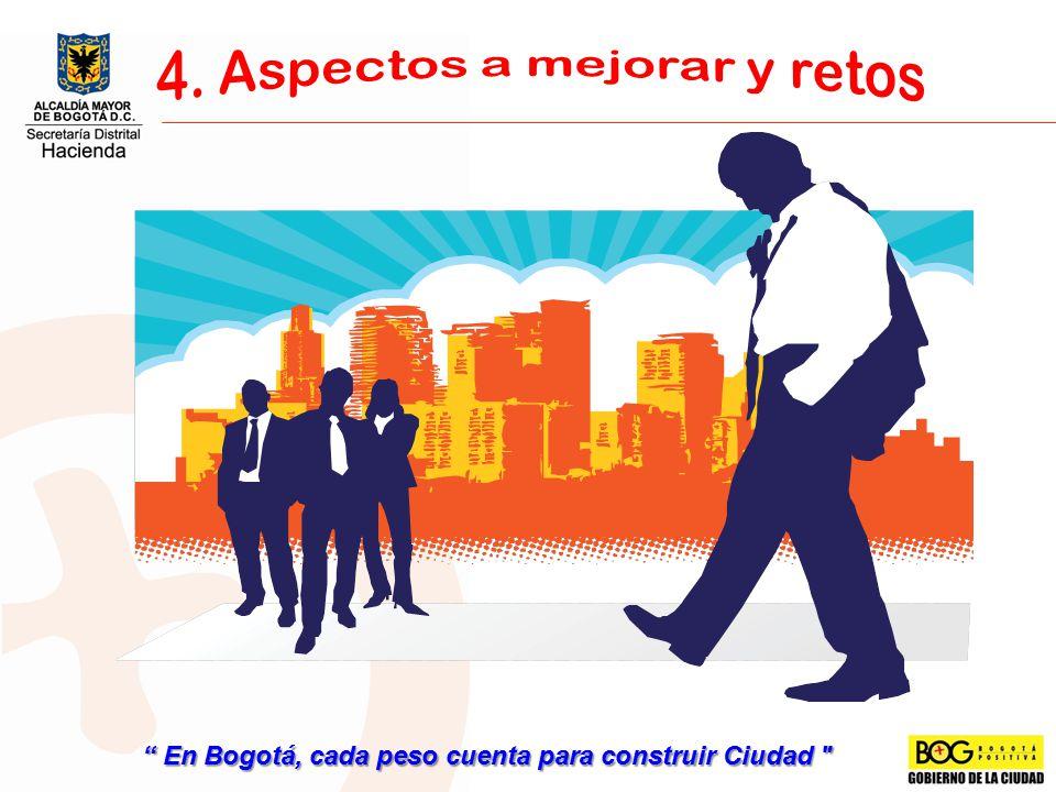 En Bogotá, cada peso cuenta para construir Ciudad