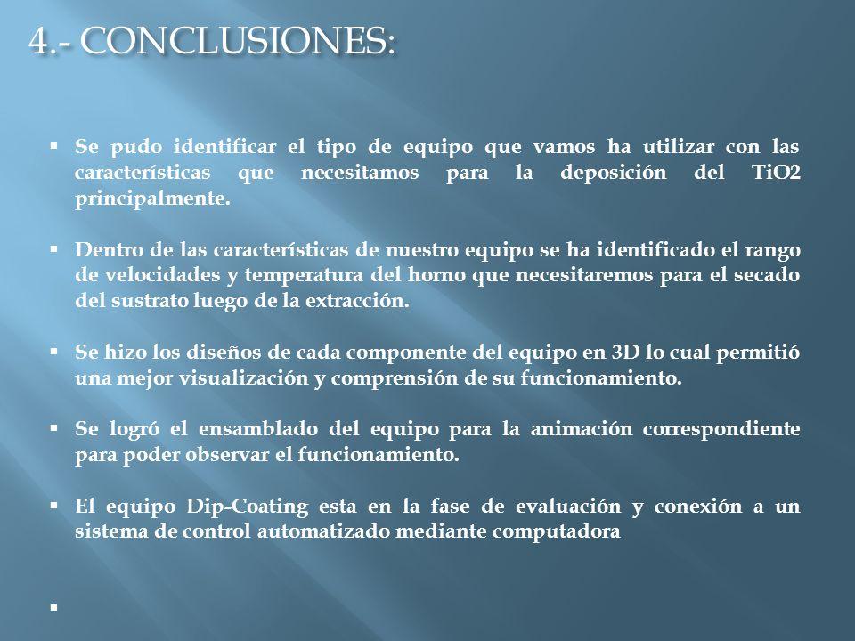 4.- CONCLUSIONES: