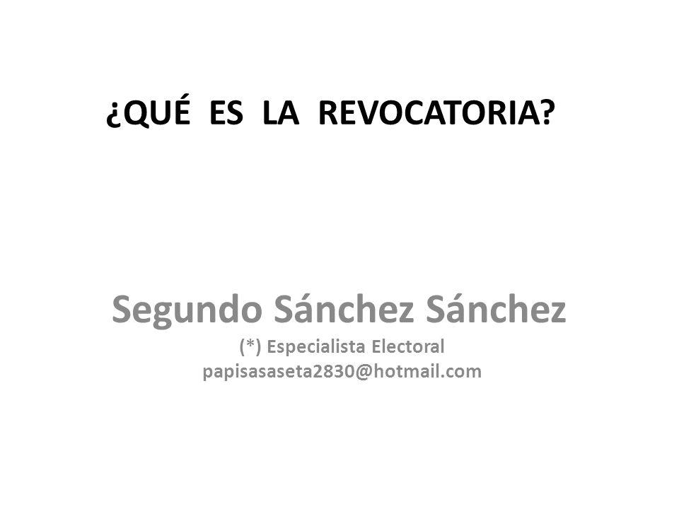 Segundo Sánchez Sánchez