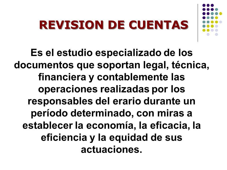 REVISION DE CUENTAS