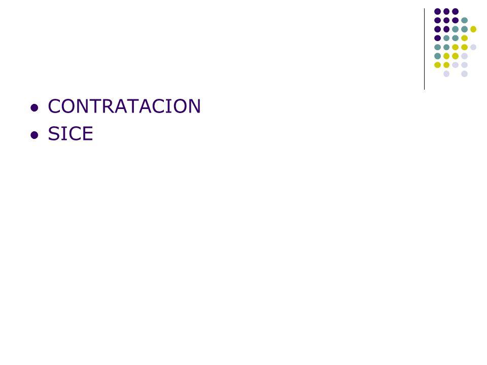 CONTRATACION SICE