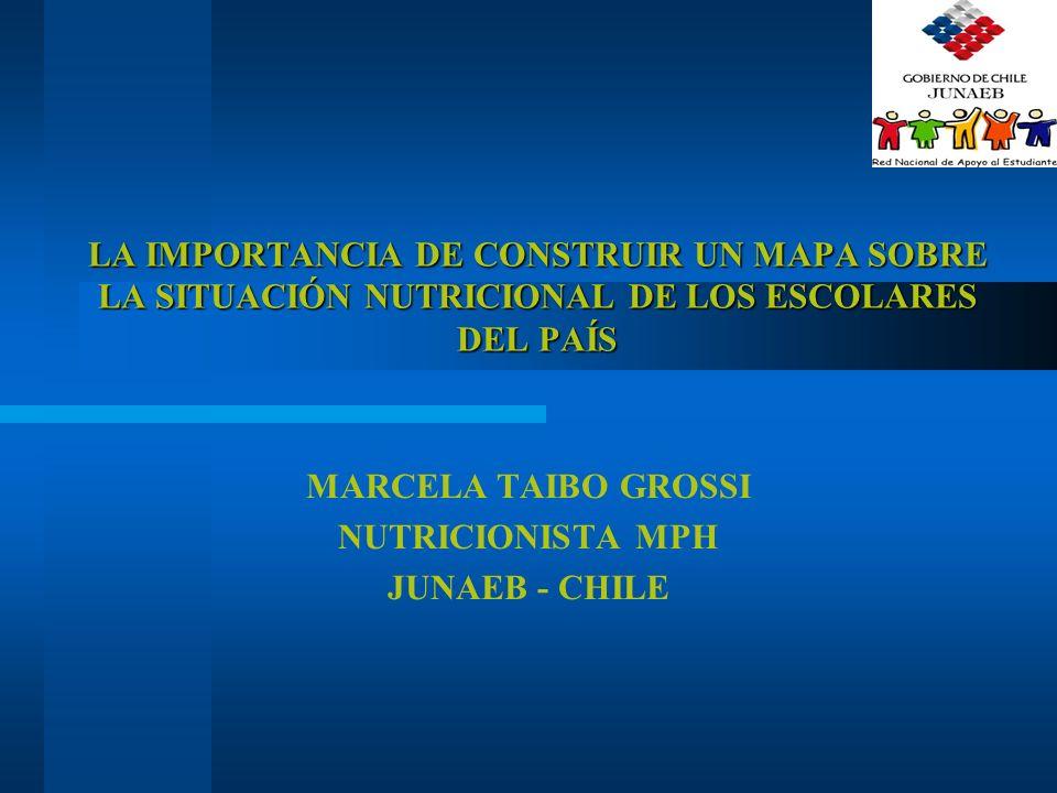 MARCELA TAIBO GROSSI NUTRICIONISTA MPH JUNAEB - CHILE