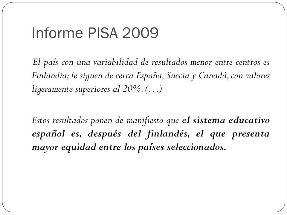 Informe PISA 2009