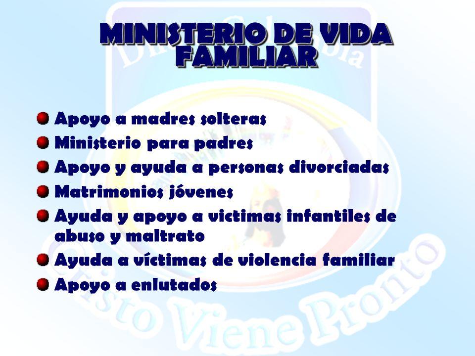 MINISTERIO DE VIDA FAMILIAR